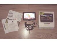 """Brand New TomTom Start 25 Western Europe 5"""" Sat Nav Plus Lifetime Maps"""