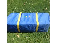 Travel cot in perfect condition hardly used