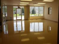 Floor stripping & waxing and hardwood install & refinishing