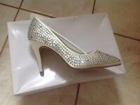 Brand New 'Rainbow' Bridal shoes