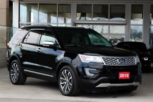 2016 Ford Explorer Platinum Certified Pre-Owned 3.9% & 1 Year Ad
