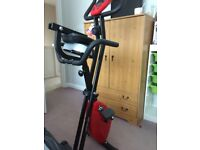 Comfort plus exercise bike folding