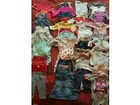 0-3 Months Girls Bundle Clothes