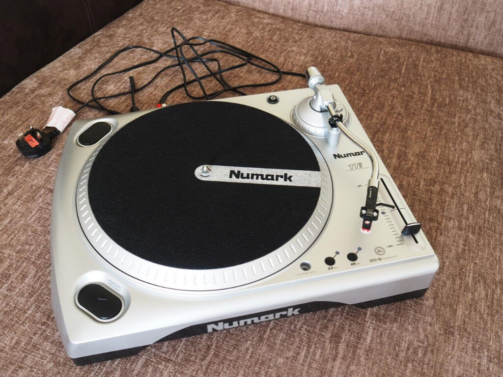 numark ttusb dj turntable deck vinyl record player with usb audio interface in dundee gumtree. Black Bedroom Furniture Sets. Home Design Ideas