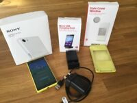 UNLOCKED Sony Xperiqa Z5 Compact Yellow Excellent Condition plus EXTRAS