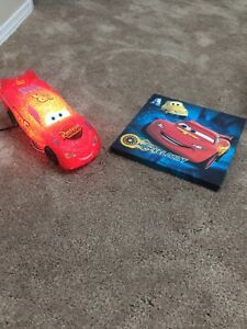 Lightening McQueen cars lamp and wall art