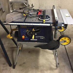 Table Saw and Compound Mitre Saw