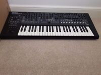 Roland System 8 synthesizer Keyboard with Juno 106 jupiter 8 and SH 101 plug outs installed