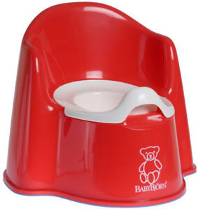 BabyBjorn Baby Potty Chair - Red BRAND NEW