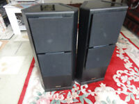 Tannoy Floor Standing Speakers with spikes Loud clear crip warm sounding