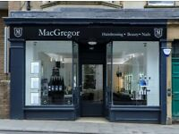 Beauty Therapist required @ MacGregor's