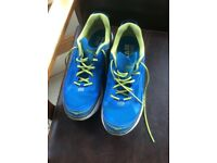 Pair of nearly new Hoka One One men's running shoes size 10