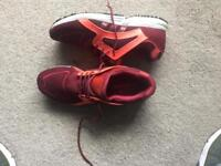 Adidas trainers worn 4 times size 10