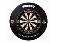 Dartboard with Surround - Excellent Condition