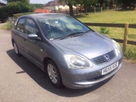 2005 Honda Civic 1,6 litre 5dr 1 owner