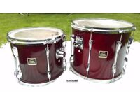 "Yamaha Stage Custom 13"" Tom in Cranberry woodstain (15"" now sold)"