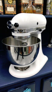 Kitchenaid Artisan White Tilt Head Stand Mixer