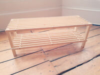 WOODEN SHOE RACK | GOOD CONDITION | £5