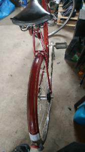 Vintage bike, 1962, $100.00, obo.