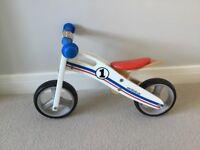 Bikestar wooden balance bike