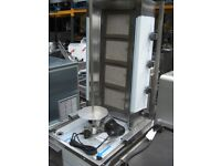 Catering Kebab Grill Machine + Electric Knife (Nat.Gas)