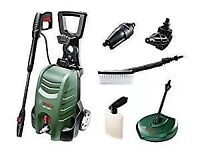 BOSCH HIGH POWER PRESSURE WASHER WITH ACCESSORIES **BRAND NEW IN BOX**