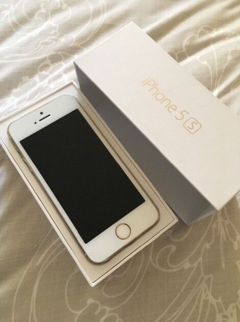 IPhone 5s Gold. Unlocked. 16 gbsin Poringland, NorfolkGumtree - iPhone 5s Gold. Unlocked. A little general wear and tear but no damage to screen/ front or camera. Comes in box, with the plug but no charging wire or headphones
