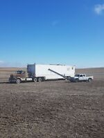 Mobile Grain cleaning Kindersley Area