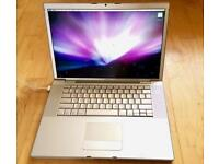 "Macbook pro 15"" ssd core duo"
