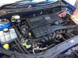 Mazda 3TS 1.6 Petrol Engine BHP105 2004 Low Mileage