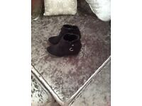 Girls new look ankle boots size 2