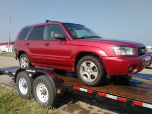 2003-2008 Forester part-out