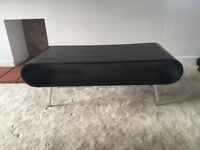 Coffee table/tv stand and side table black