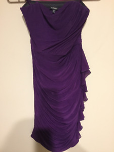 Beautiful Worn Once Purple Le Chateau Dress
