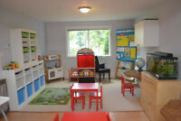 TIMBER TOTS CHILD CARE AND JUNIOR KINDERGARTEN - space available