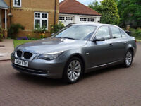 AUTOMATIC BMW 5 SERIES 2.0 520D SE 4d AUTO 175 BHP, LEATHER, PARKING AID, FULL SERVICE HISTORY