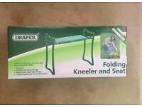 Draper Folding Kneeler and Seat-Brand new, in its original box