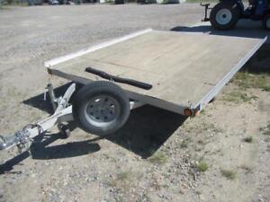 2007 Triton XT10-101 ***10 Foot*** Tilt Deck 2 Place Sled / ATV