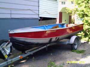 boat and trailer for sale in arnprior-give me an offer .