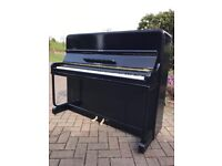 Kemble black gloss upright piano|Belfast Pianos