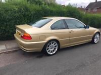 BMW 3 Series 2.5 1 year MOT