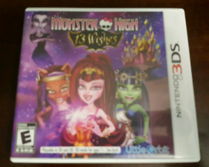 Monster High 13 Wishes 3DS Game