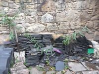 FREE - Traditional Scottish Roof Slate Tiles