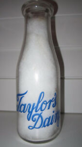 Antique - ACL / Embossed Niagara Region Milk Bottles..$$ Paid