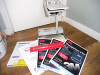 SUPER OVERHEAD PROJECTOR WITH LOTS OF ACCESSORIES