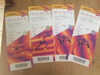 World Athletics Championships 4 tickets for sale - Sat 12th August