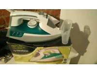 Urgent. Must go. Steam iron