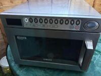 Samsung CM1929 Super Heavy Duty Commercial Microwave 1850W