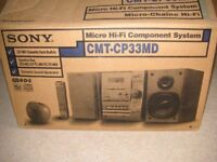 SONY MICRO HI-FI COMPONENT SYSTEM