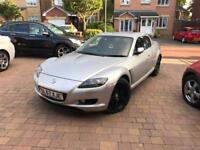 (57) Mazda RX-8 231 PS 2616CC 71k miles 5 Door Coupe MOT Bose Leather 1 previous owner RX8 RX 8